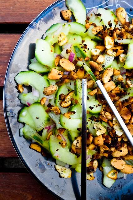 Salade de concombre à la thaïlandaise / Thai Cucumber Salad