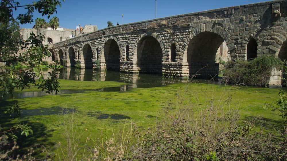 Puente romano en Mérida. Autor, Antonio Pineda