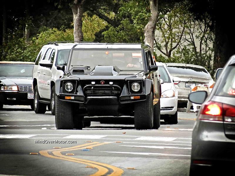 Lamborghini LM002 spotted in Monterey, CA
