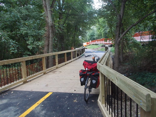 New Bridge on the Mount Vernon Trail by Rootchopper