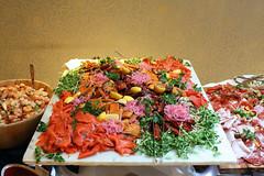 Varieties of salmon preparations