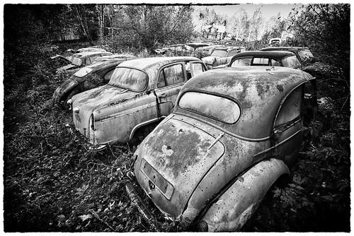 The Car Park Time Forgot by Davidap2009