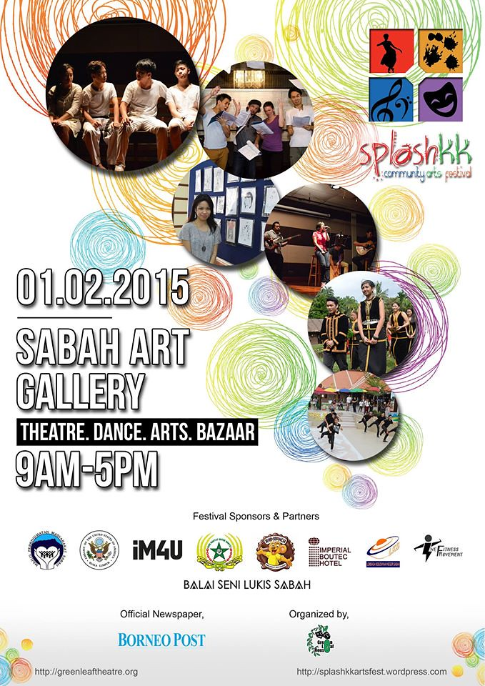 SplashKK Community Arts Festival 2015, Kota Kinabalu, Chloe Tiffany Lee