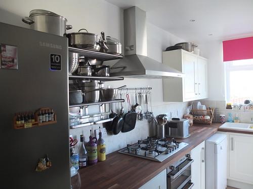 The new kitchen by La belle dame sans souci