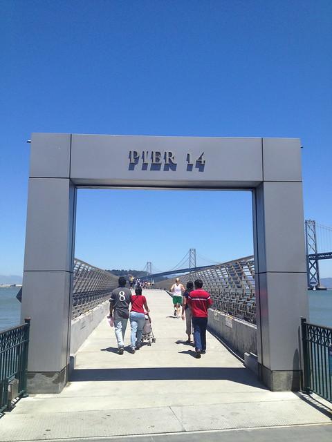 Pier 14 entrance