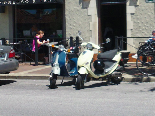 buddy and lambretta scooters