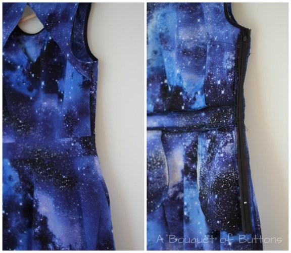 Galaxy, dress, jurk
