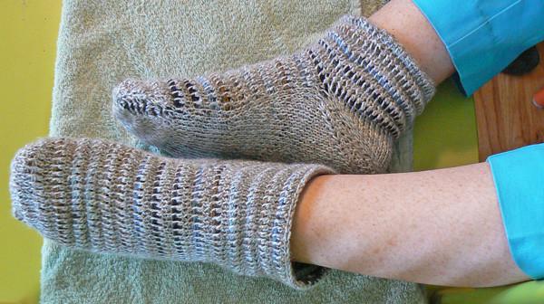 socks on