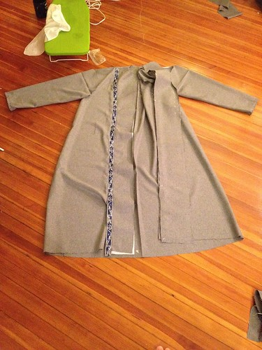 Sewing: long coat