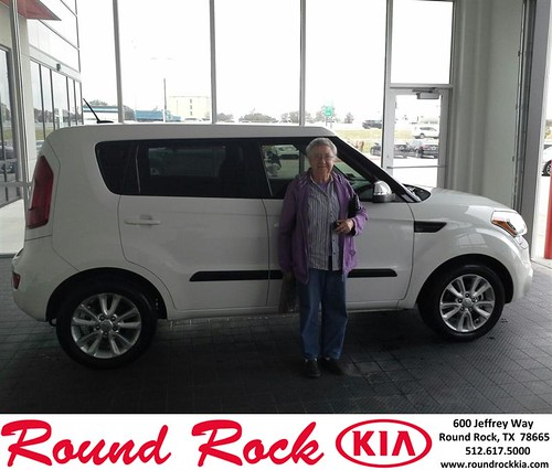 Thank you to Virginia Horony on your new 2012 #Kia #Soul from Eric Armendariz and everyone at Round Rock Kia! #NewCar by RoundRockKia