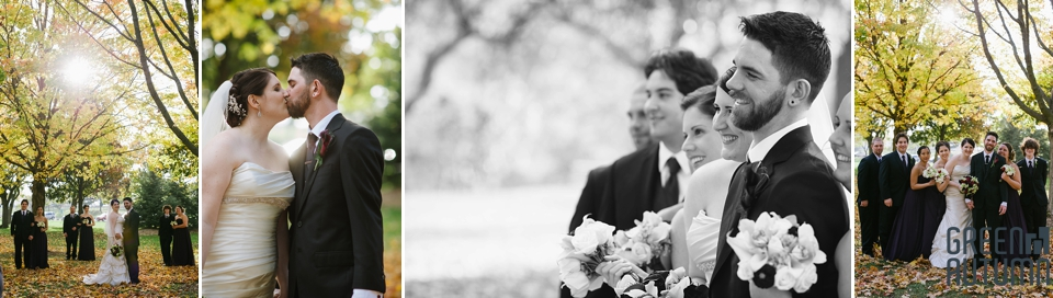 Autumn Battlefield Park Stoney Creek Wedding Photographers
