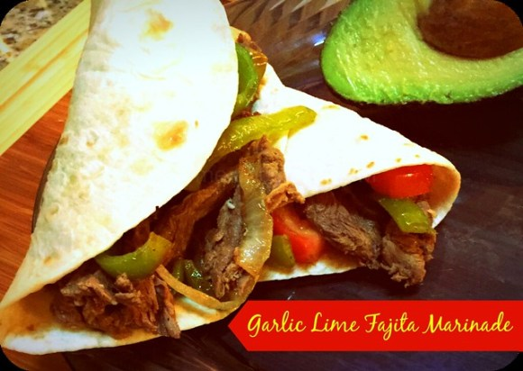 garlic lime fajita marinade