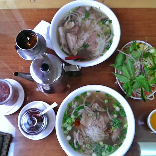 Pho In & Out, last meal in WA