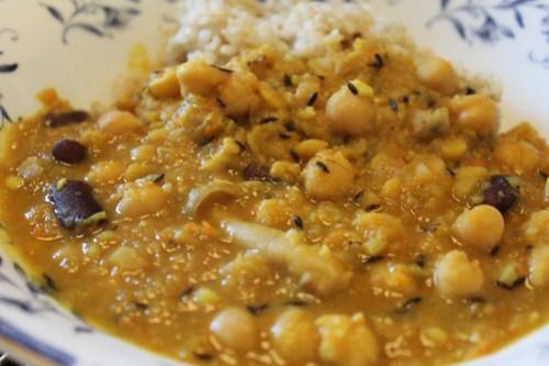 インド料理レシピ編 重ね煮ダール(豆)カレー