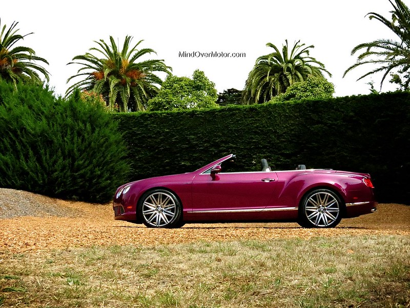 Raspberry Bentley Continental GTC W12