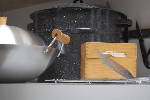 rummaged kitchen stuffs