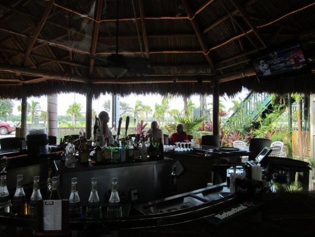 Lulu's Garden Tiki Bar in Marathon