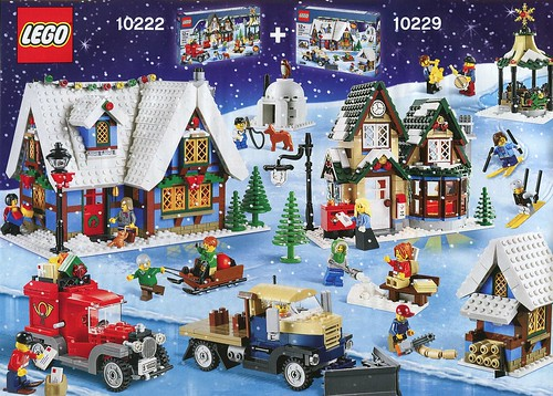 LEGO 10229 Winter Village Cottage ins03