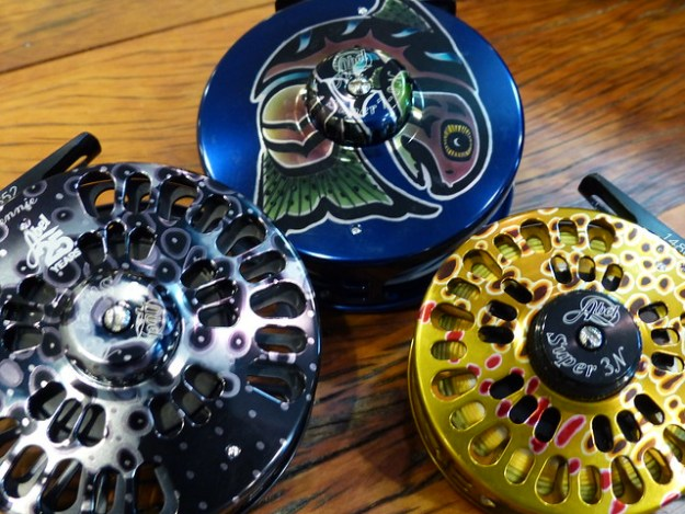 Abel Artistic and Fish Graphic Reels