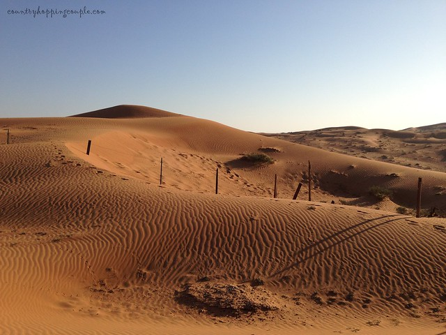 ras al khaimmah desert camping