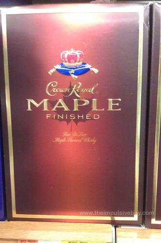 Crown Royal Maple Finished