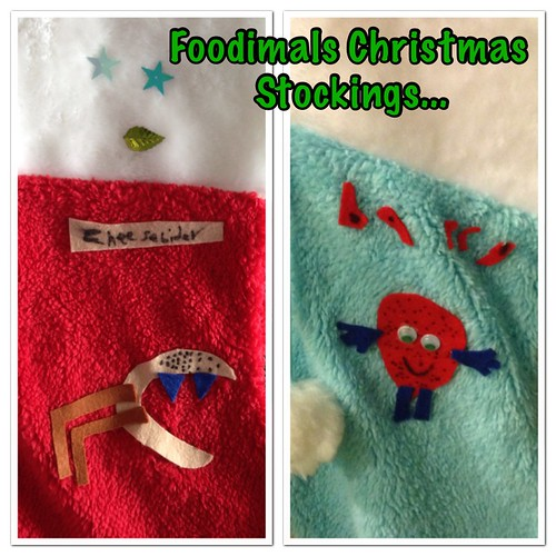 Foodimals Christmas Stockings