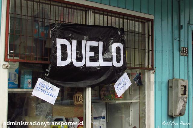 Crisis Chiloé: Apoyo de población local