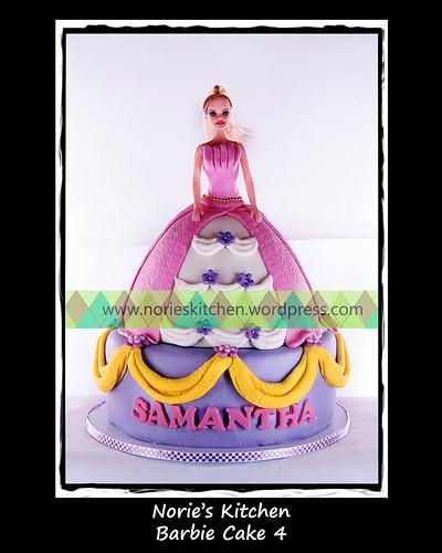 Norie's Kitchen - Barbie Cake 4 by Norie's Kitchen