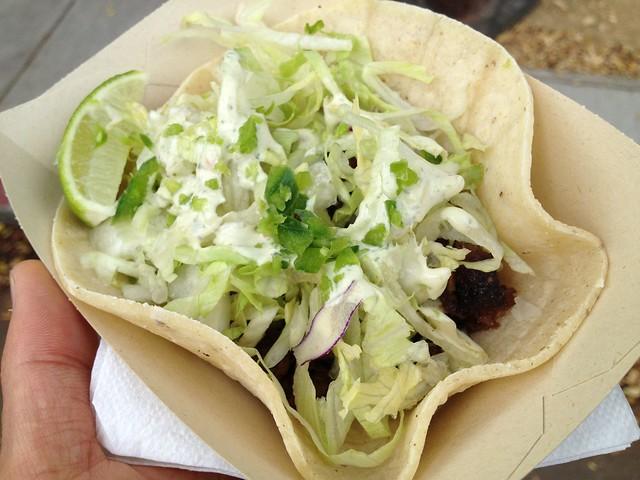 Pork sisig taco - Senor Sisig