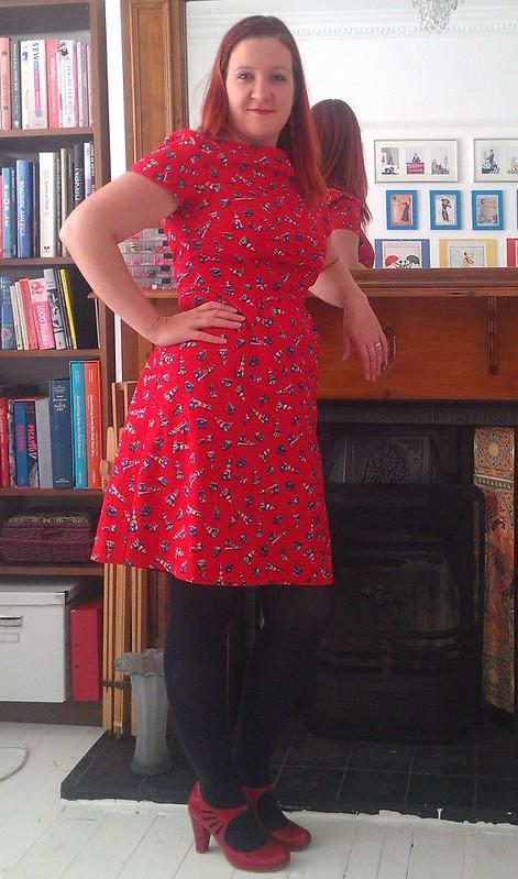 Colette Peony Lighthouse Dress