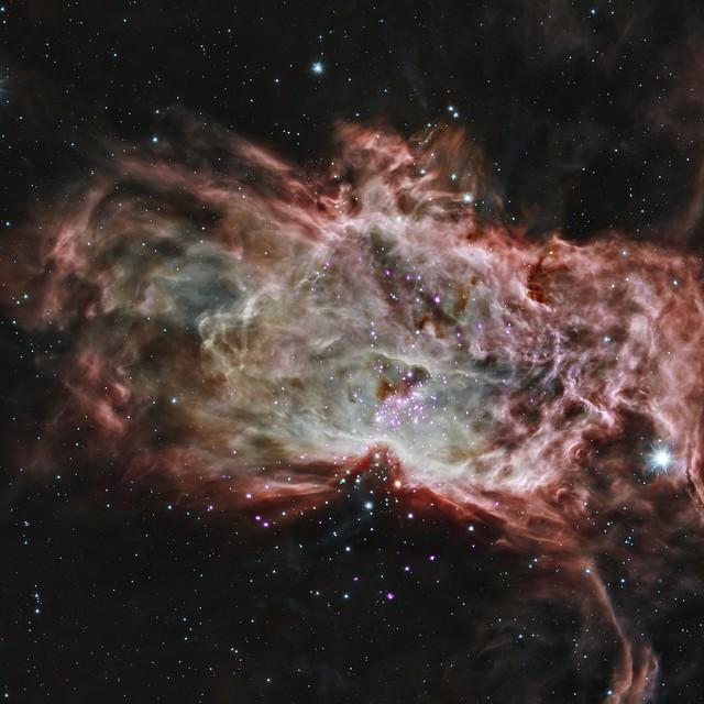 Inside the Flame Nebula (NASA, Chandra, 05/07/14)