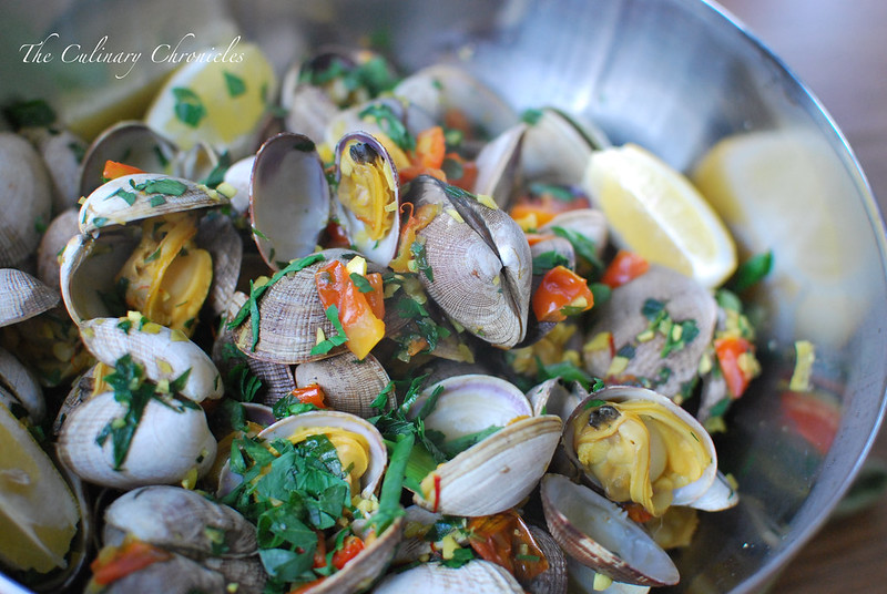 Saffron Clams