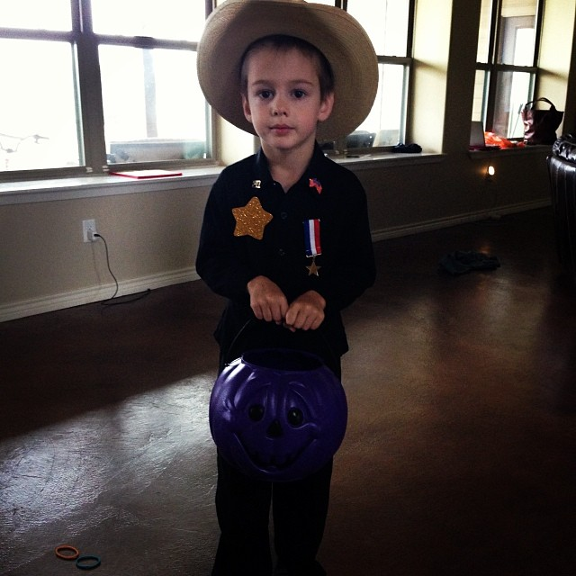 Texas Ranger. #halloween2013