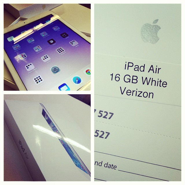 This just happened! #ipadair #apple #thethingsihavetodoforwork