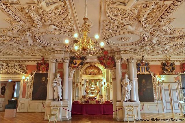 Festsaal Schloss Friedenstein, Gotha, Thüringen