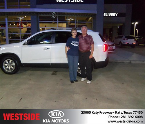 Happy Anniversary to Ronald E Dickey on your 2012 #Kia #Sorento from Elhallal Rizkallah  and everyone at Westside Kia! #Anniversary by Westside KIA
