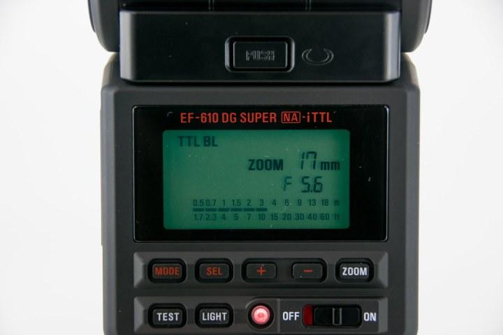 SIGMA ELECTRONIC FLASH EF-610 DG SUPER NA-iTTL