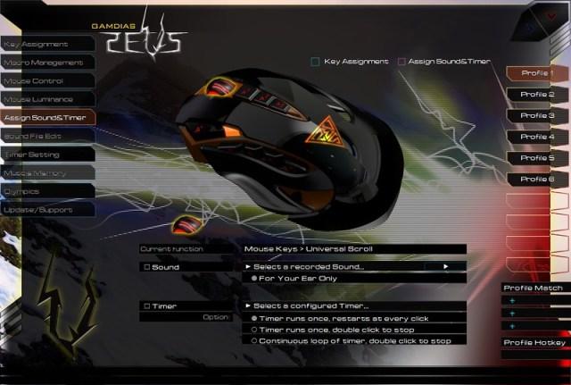 GAMDIAS ZEUS Esport Edition Laser Gaming Mouse 67