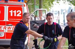 Ölfilm im Schiersteiner Hafen 27.08.13