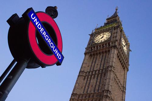Underground Big Ben by Christopher OKeefe
