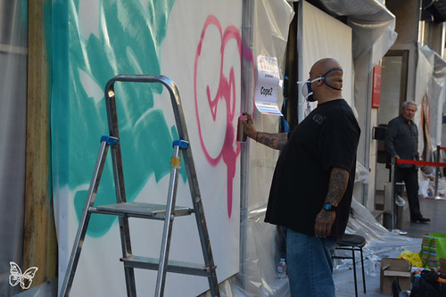 Paris Live Painting - Cope2