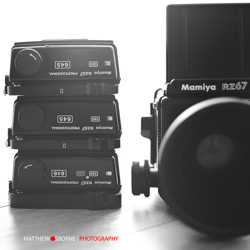 Mamiya RZ 645 Film Back by MatthewOsbornePhotography_