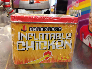 Emergency Inflatable Chicken