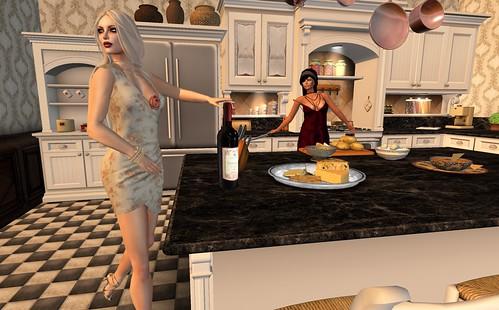 Dinner Party Kitchen