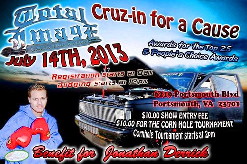 jonathan derrick cruize in for a cause 7.14.2013