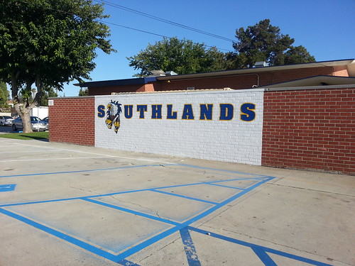 Southlands Christian School mural