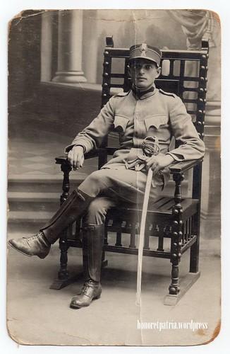 Romanian 2nd class intendance NCO, circa 1913. by honoretpatria.wordpress