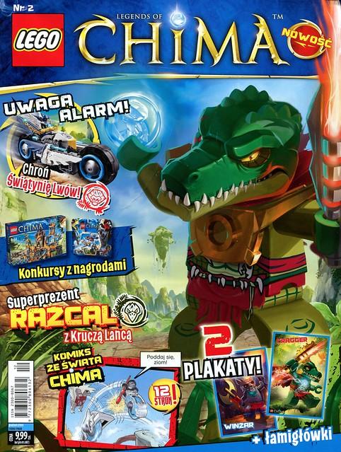 LEGO Legends of Chima Oficjalny Magazyn 2013-02 01