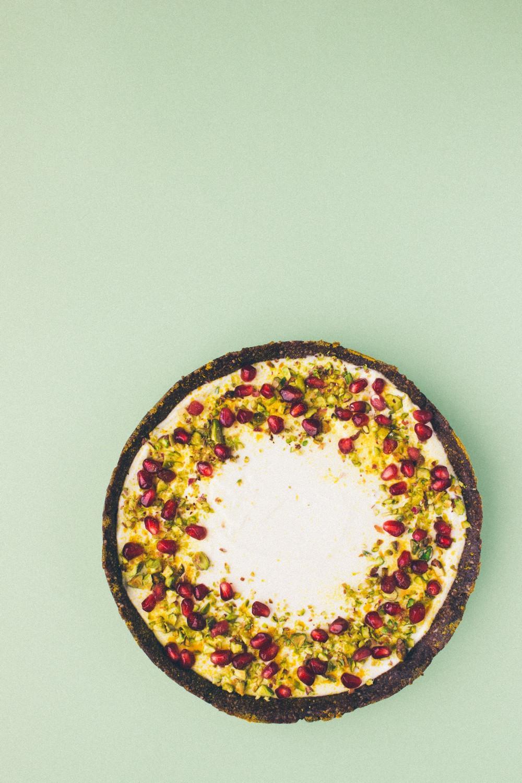 Labneh Tart (No Sugar, No Bake)