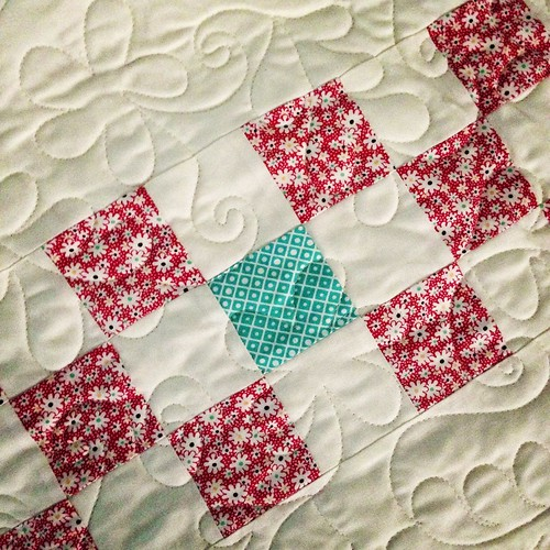 new quilt almost finished!